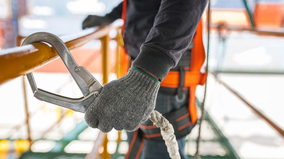 Arbeitssicherheit Industrie und Montageleistungen