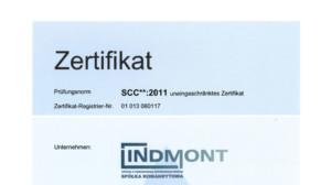 SCC Zertifizierung