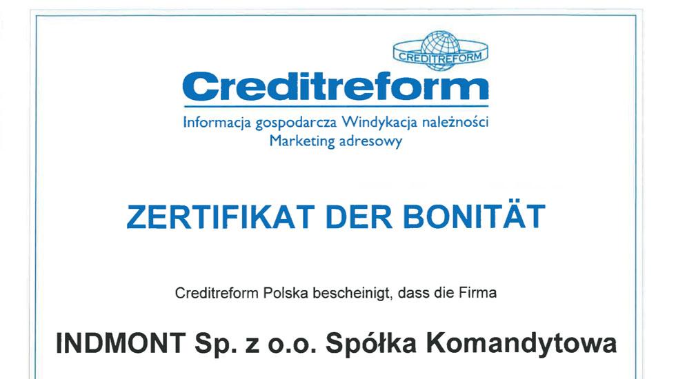 Creditreform Zertifizierung